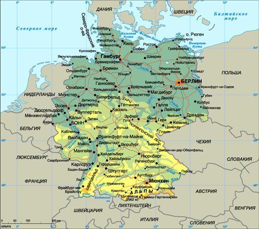 Автоперевозки из Германии