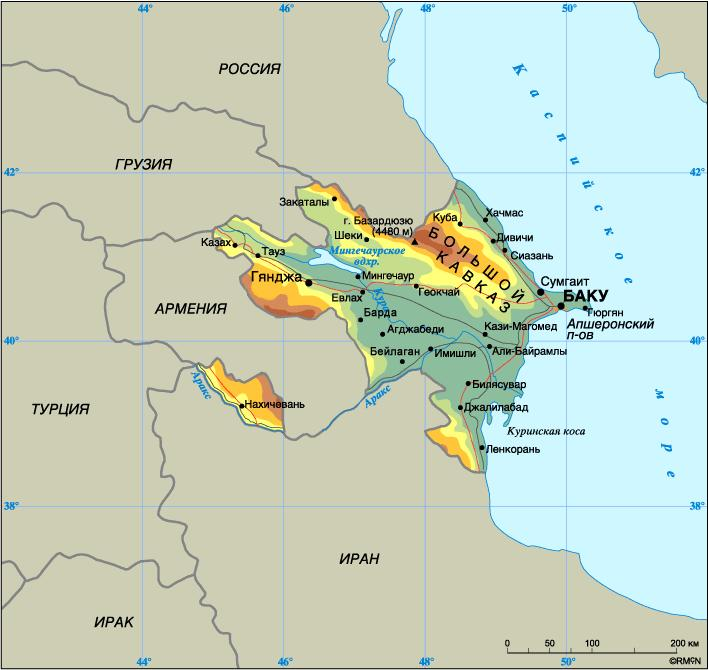 Доставка грузов в Азербайджан
