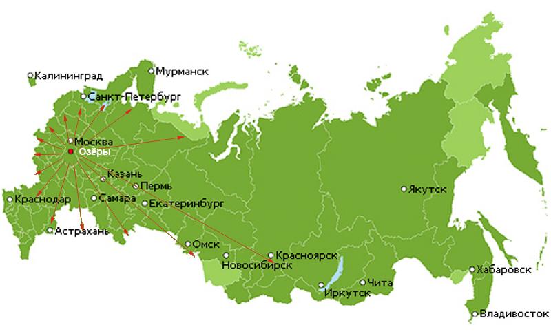 автоперевозки грузов по России
