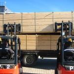 Export of timber